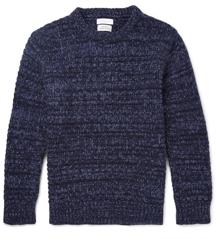 Richard James Chunky-Knit Wool Sweater
