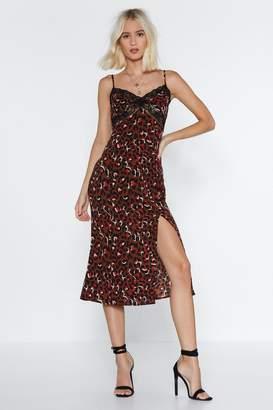 Nasty Gal No Hard Felines Leopard Dress