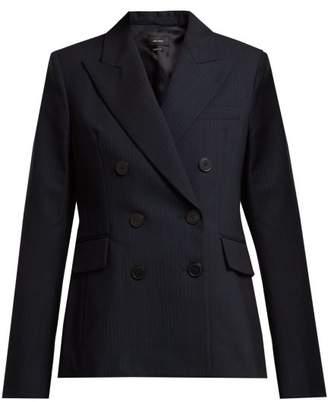 Isabel Marant Helsey Wool Blend Jacket - Womens - Navy