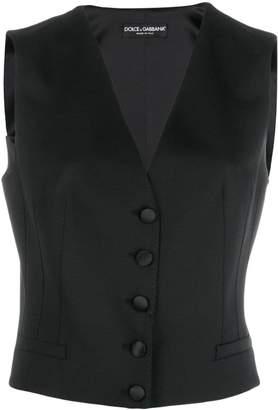 Dolce & Gabbana classic buttoned waistcoat