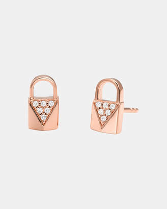 Michael Kors Premium Rose Gold-Tone Earrings
