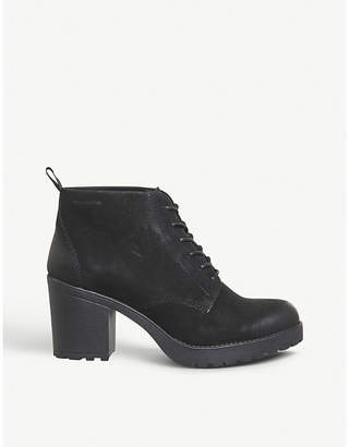 Vagabond Grace leather heeled ankle boots