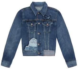 Polo Ralph Lauren Distressed Denim Jacket