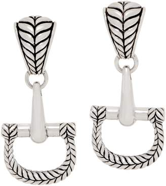 Jai JAI Sterling Silver Equestrian Earrings