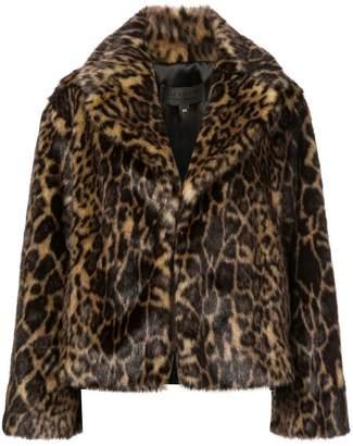 Nili Lotan leopard print fur jacket
