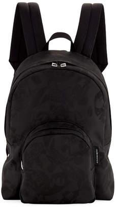 Alexander McQueen Men's Small Jacquard Backpack