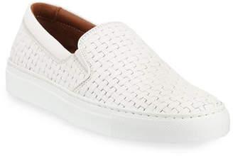0e9241e933c Aquatalia Ashlynn Woven Leather Slip-On Sneakers