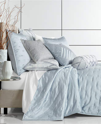 Hotel Collection Dimensional King Quilted Coverlet