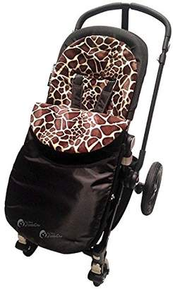 Bugaboo Animal Print Padded Footmuff/Cosy Toes Compatible with Bee/Donkey/Cameleon Giraffe