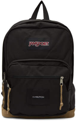 JanSport Pushbutton Black Edition Right Pack Backpack