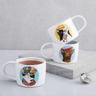 west elm Summertime Animal Mugs