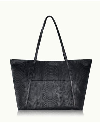 GiGi New York Black Charlotte Tote