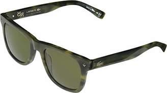 Lacoste Unisex L878s Plastic Rectangular 85° Anniversary L.12.12 Sunglasses