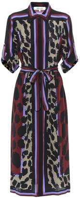 Diane von Furstenberg Sogol printed silk midi dress