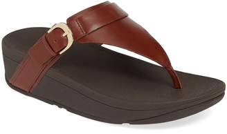 7b64467cc FitFlop Brown Slide Women s Sandals - ShopStyle