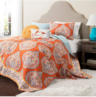 Lush Decor Harley Full/Queen Quilt 5pc Set Bedding