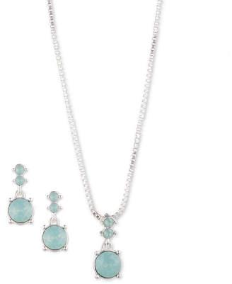 Gloria Vanderbilt Silver Tone 2-pc. Jewelry Set