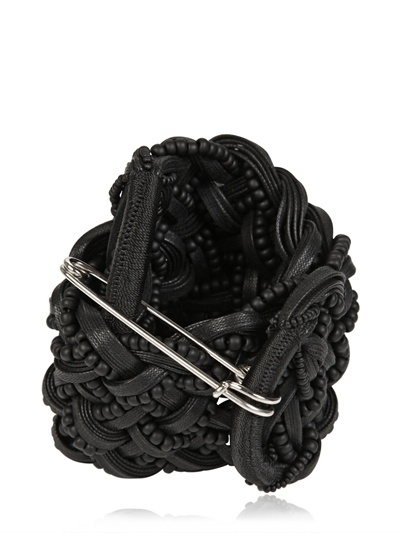 Braided Waxed Cotton Bracelet