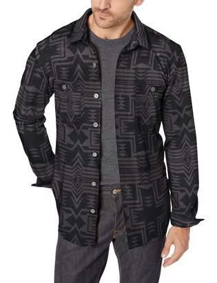 UNIONBAY Men's Long Sleeve Button-up Polar Fleece Shirt Jacket
