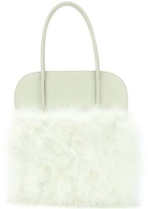 Nina Ricci panelled fluffy tote