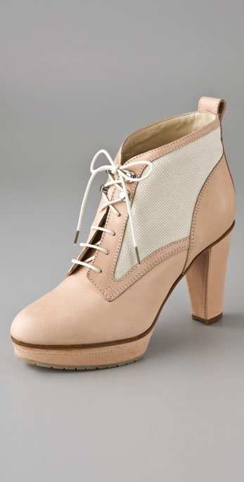 Rag & Bone Kensington Lace Up Booties