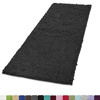 "MAYSHINE Chenille Dog Door mat (31""x59"") Runner for Front Inside Floor Dirty Trapper Doormats"