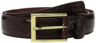 Torino Leather Co. 35mm Gator Grain Embossed Calf Men's Belts