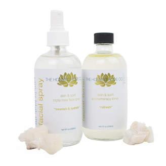 The Holistic Home Company Skin & Spirit Nourish and Refresh Beauty Set