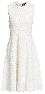 Lela Rose Women's Flare Hem Knit Dress