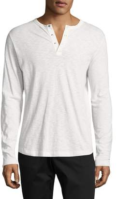 Theory Men's Nebulous Core Cotton Henley