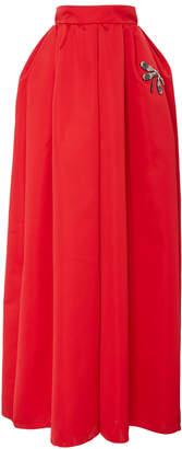 Rochas Embellished Duchess-Satin Ball Skirt