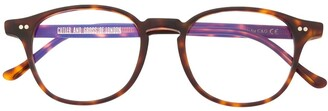 Cutler & Gross wayfarer frame glasses