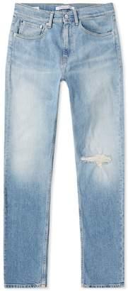 Calvin Klein CKJ016 Skinny West Distressed Jean