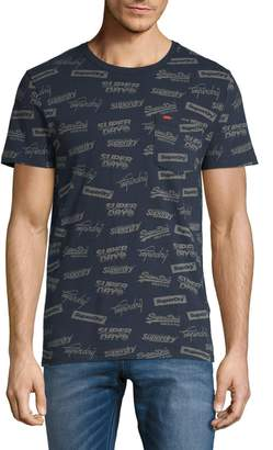 Superdry Logo Cotton-Blend Tee