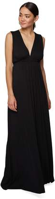 Rachel Pally LONG SLEEVELESS CAFTAN DRESS - BLACK