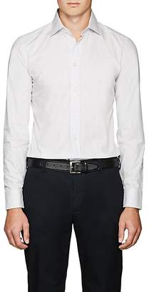 Armani Collezioni MEN'S COTTON POPLIN DRESS SHIRT
