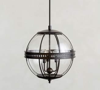 Pottery Barn Caspar Indoor/Outdoor Glass Pendant