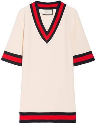 Gucci V-Neck Short Sleeves Top
