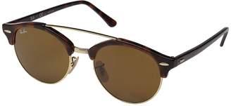 Ray-Ban 0RB4346 Clubround Double Bridge 51mm Fashion Sunglasses