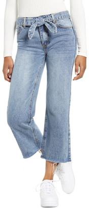 LIRA Valiant Wide Leg Crop Jeans
