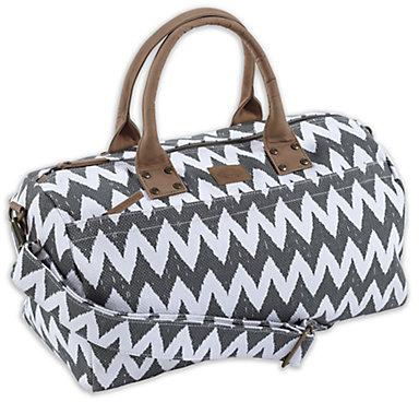 John Robshaw Zigzag Duffel Bag