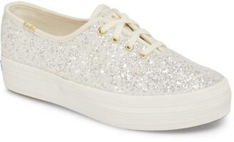 Kate Spade Keds® For triple decker glitter sneaker