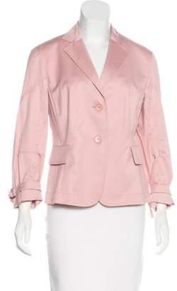 Akris Punto Lightweight Button-Up Blazer