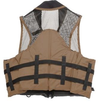 Airhead Deluxe Mesh Top Fishing Vest, L/XL, Bark