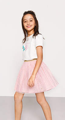 Esprit Mini girl flower t-shirt