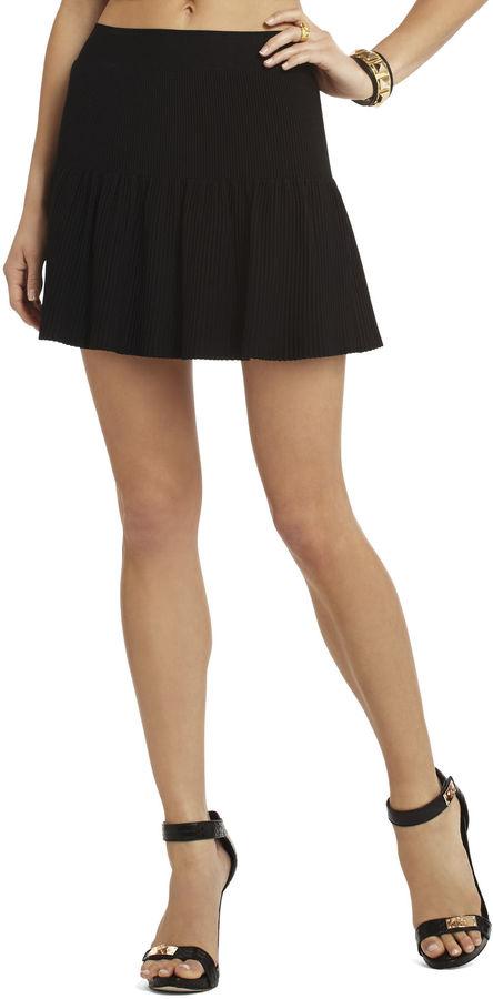 BCBGMAXAZRIA Valeria Ruffled Skirt