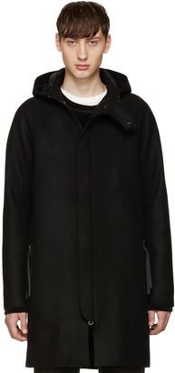 Acne Studios Black Wool Milton Coat $800 thestylecure.com