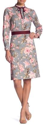 Paul & Joe Sister Princiere Long Sleeve Floral Print Dress