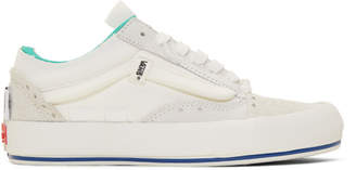 Vans White Regrind Old Skool Cap Lx Sneakers