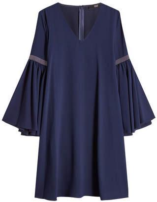 Steffen Schraut Crepe Dress with Embellishment